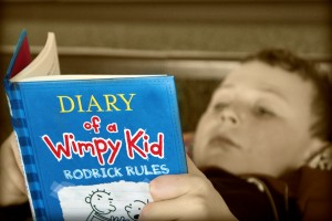 R = Reading Wimpy Kid Books RULES!