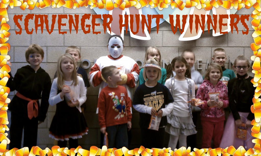 Scavenger Hunt Winners