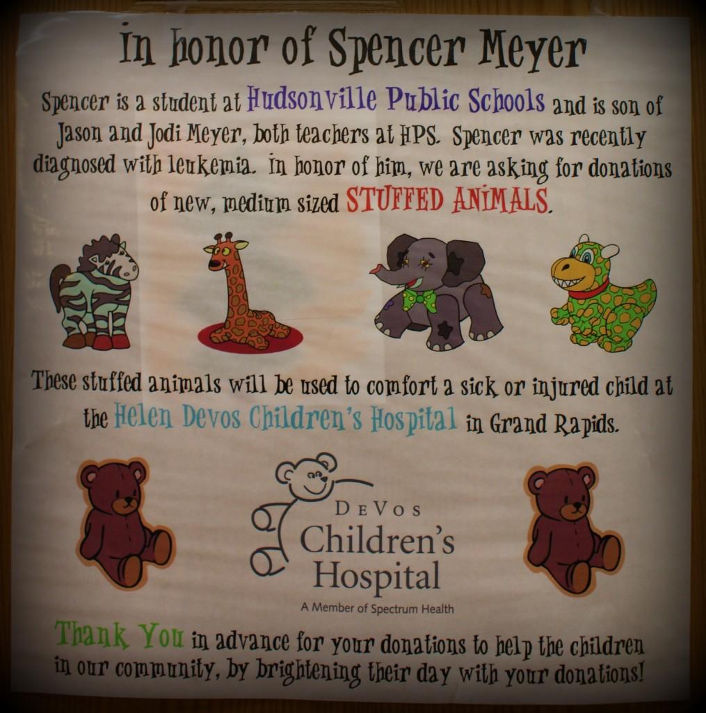Spencer stuffed animals