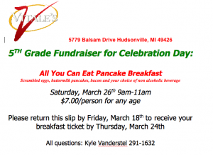 pancake bfast