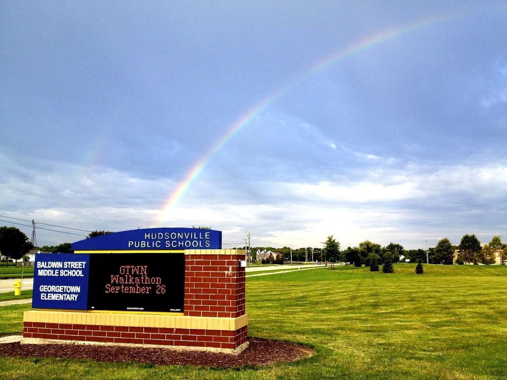 Rainbow over Georgetown