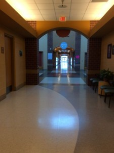 Empty Hallways during Snow Days