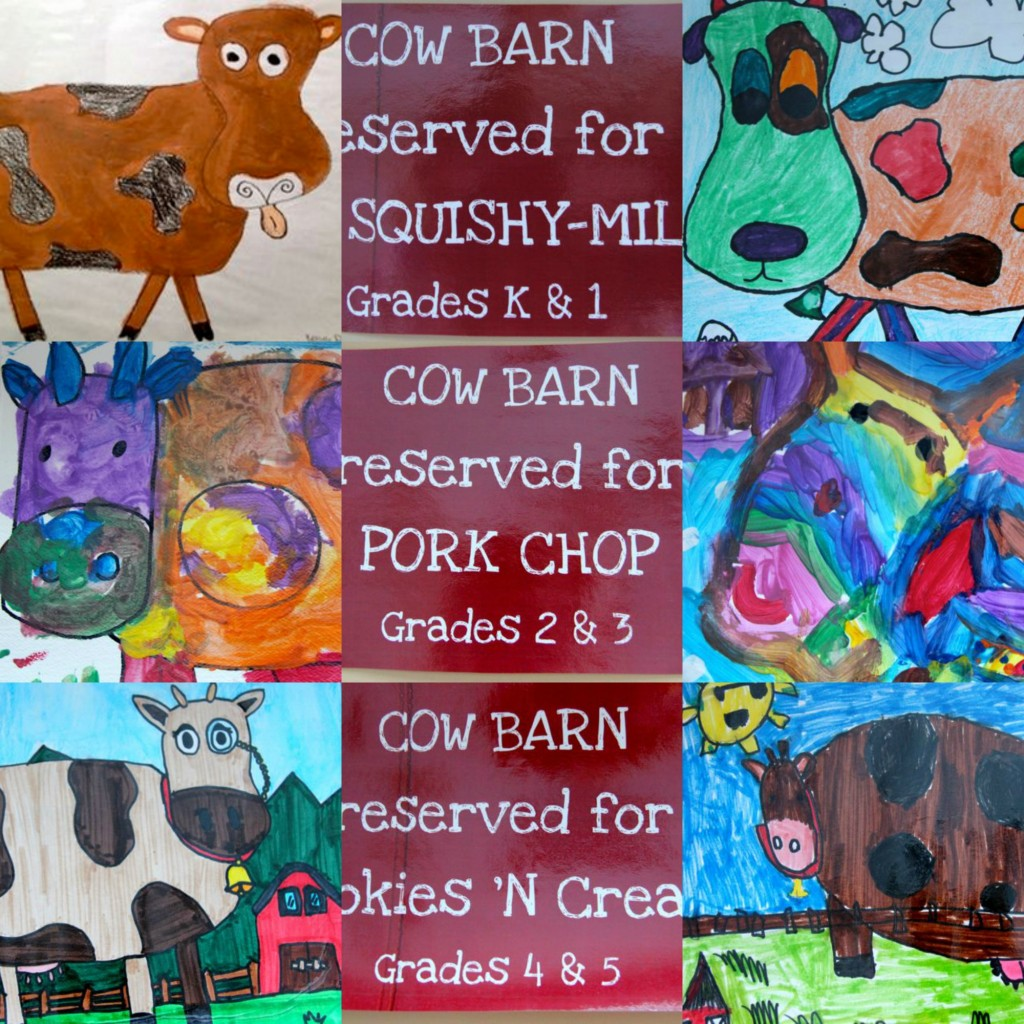 Cow Names Are Official – Georgetown Elementary School